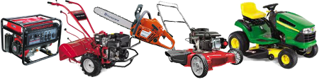 Generator, Tiller, Chainsaw, Lawnmower, Riding Mower, Snow Blower