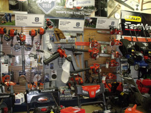 Leaf Blowers, Chainsaws, Weed Whackers, Edge Trimmers, Lawnmowers